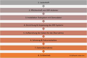Phasenmodell der ERP-Einführung